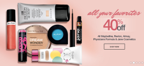 40% off Drugstore Brands at Ulta
