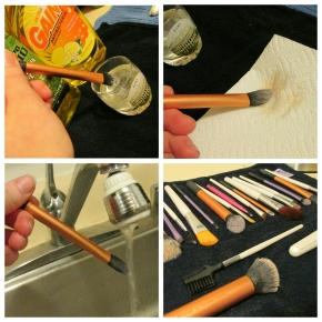 Super Simple How To: Brush Cleaning