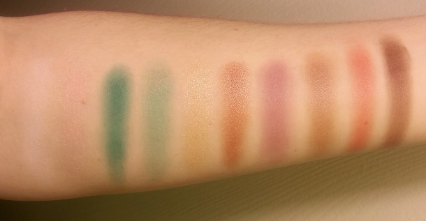 LORAC afterGLO swatches