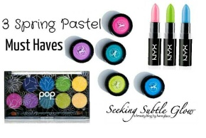 3 Spring Pastel Must Haves